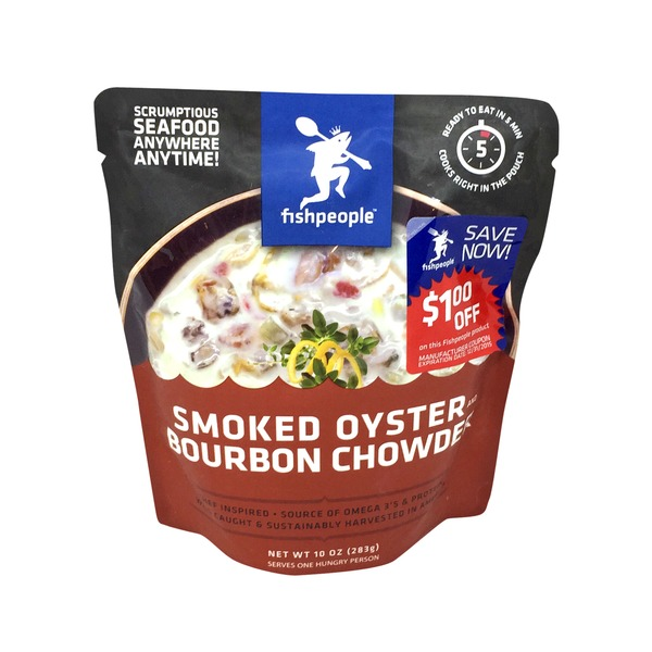 Fishpeople Smoked Oyster Bourbon Chowder