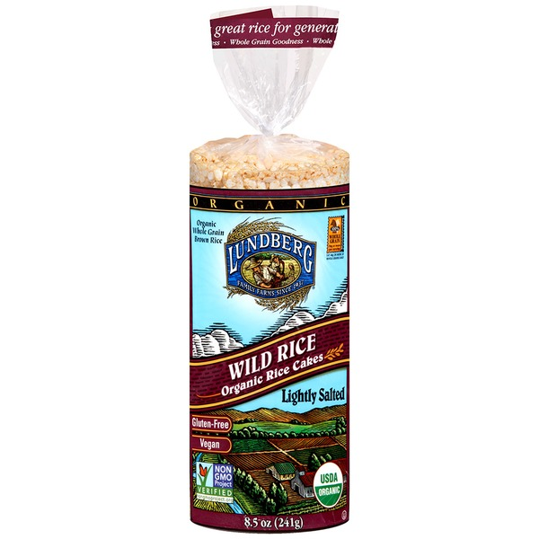 Lundberg Family Farms Cinnamon Toast Organic Rice Cakes