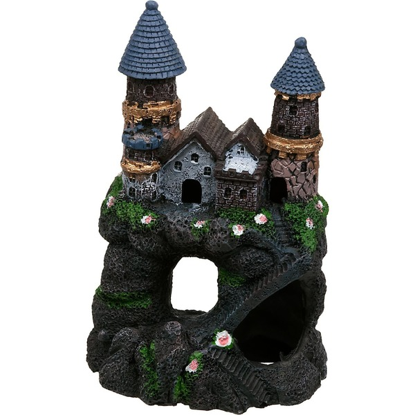 Penn-Plax Enchanted Castle Aquarium Ornament