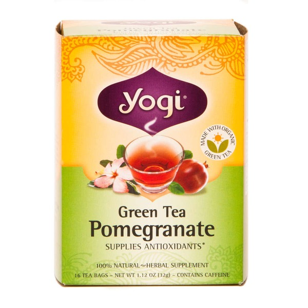 Yogi Green Tea Pomegranate