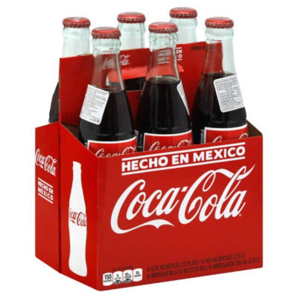 Coca-Cola Bottles Mexico - 6 CT