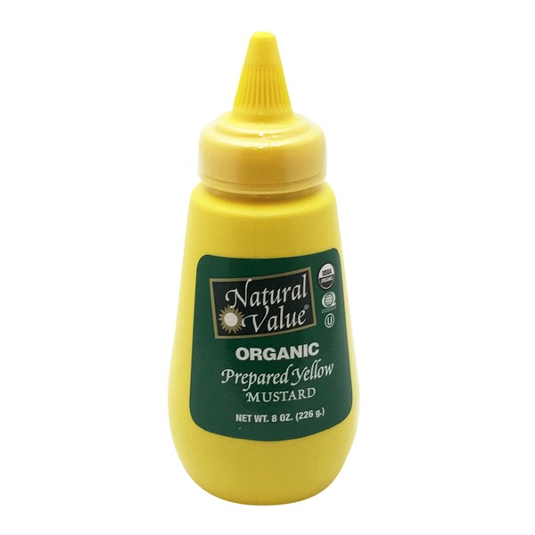 Natural Value Organic Prepared Yellow Mustard