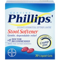 Phillips Gourmet Liquid Gels Stool Softener