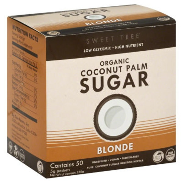 Sweet Tree Coconut Palm Sugar, Organic, Blonde