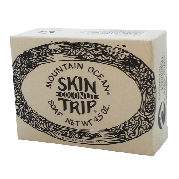Mountain Ocean Skin Trip Coconut Soap Bar