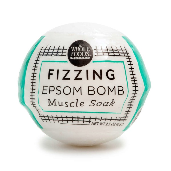 Whole Foods Market Fizz Bathbomb Muscle Soak