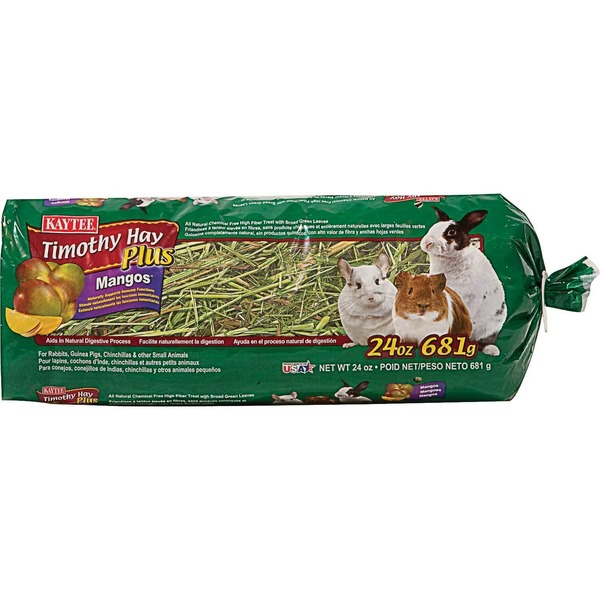 Kaytee Timothy Hay Plus With Mango For Rabbits & Small Animals