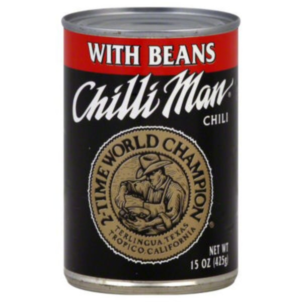 Chilli Man With Beans Chili