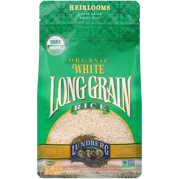 Lundberg Family Farms OG White Long Grain Organic White Rice