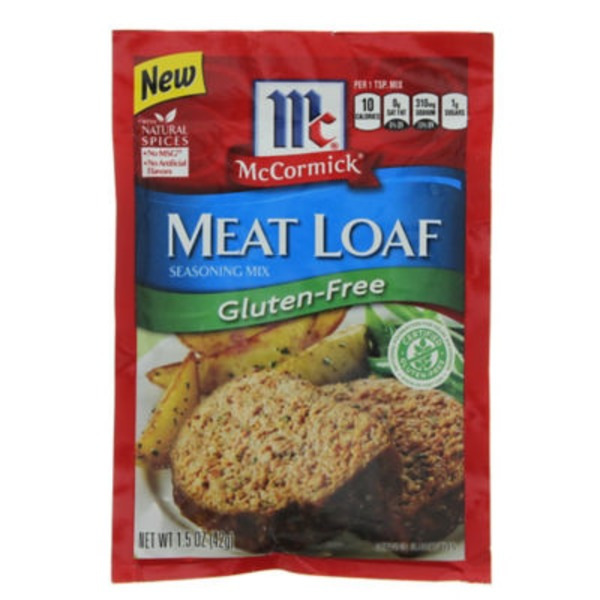 McCormick Meat Loaf Gluten-Free Seasoning Mix