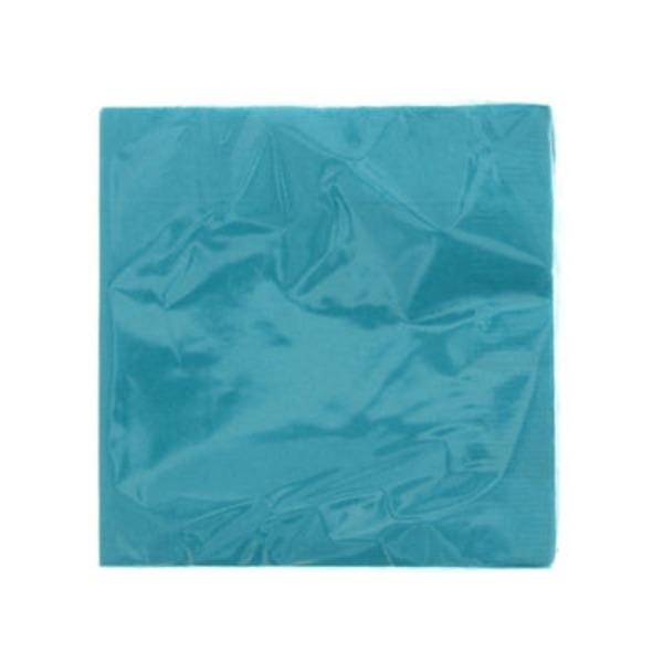 Unique Caribbean Teal Beverage Napkin