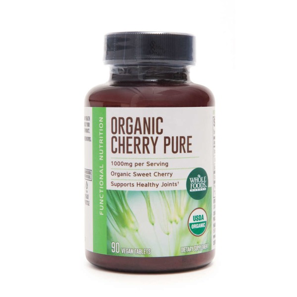 Whole Foods Market Organic 1000 mg  Cherry Pure Dietary Supplement