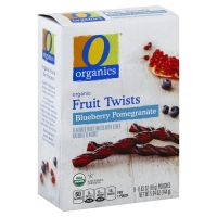 O Organics Fruit Twist Blubry Pomegranate