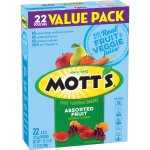 Mott's Fruit Flavored Snacks Assorted Fruit , 22 ct, 17.6 oz, 22.0 CT