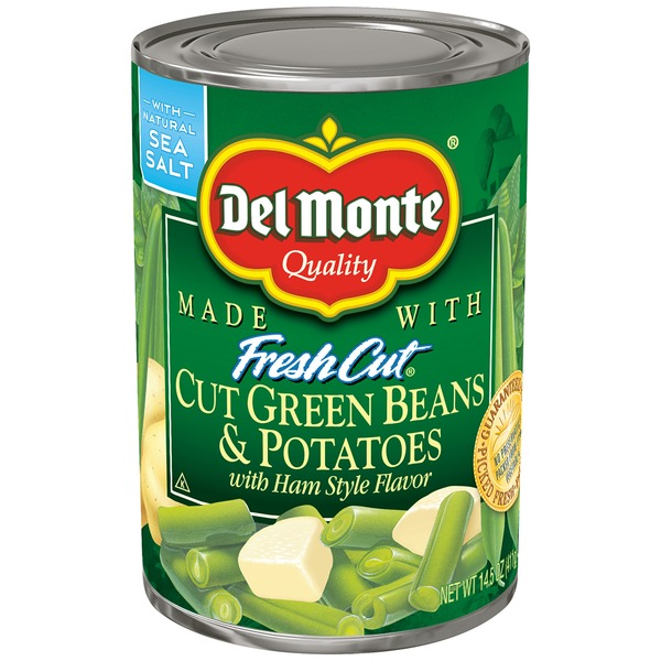 Del Monte Blue Lake Cut with Ham Style Flavor Green Beans & Potatoes