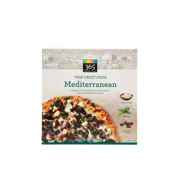 365 Mediterranean Thin Crust Pizza