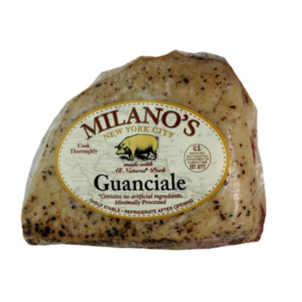 Milano's Nyc Guanicale