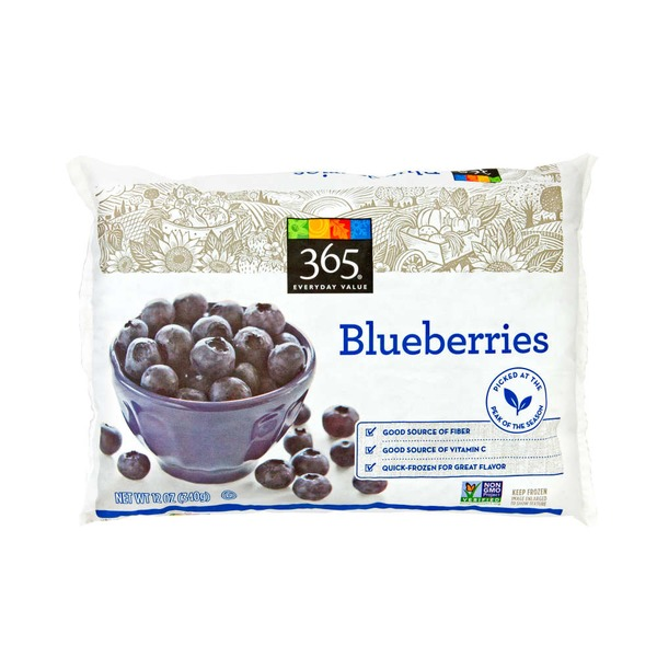365 Frozen Blueberries