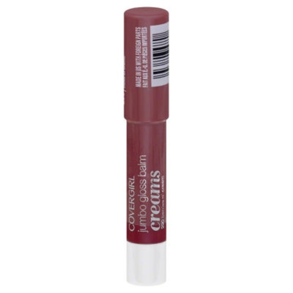 CoverGirl Colorlicious COVERGIRL Colorlicious Jumbo Gloss Balm Creams, Berries 'N' Cream 11 oz (3.2 g) Female Cosmetics