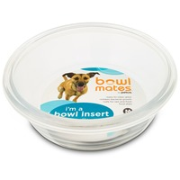 Bowlmates By Petco Medium Glass Bowl Insert