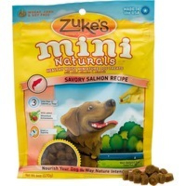 Zuke's Miniature Dog Treats, Salmon Formula