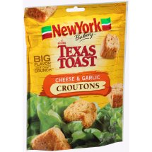 New York Texas Toast Croutons Cheese & Garlic, 5.0 OZ