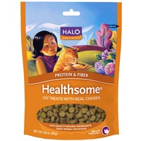 Halo Healthsome Chicken Cat Treats 3 Oz.