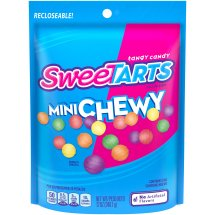 Sweetarts Mini Chewy Candies 12 Ounce Resealable Bag