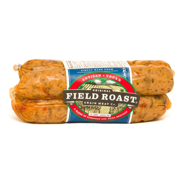 Field Roast Vegetarian Grain Meat Sausages Italian - 4 CT