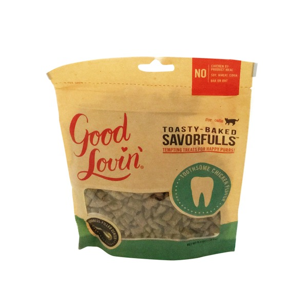Good Lovin' Savorfulls Chicken Dental Health Cat Treats