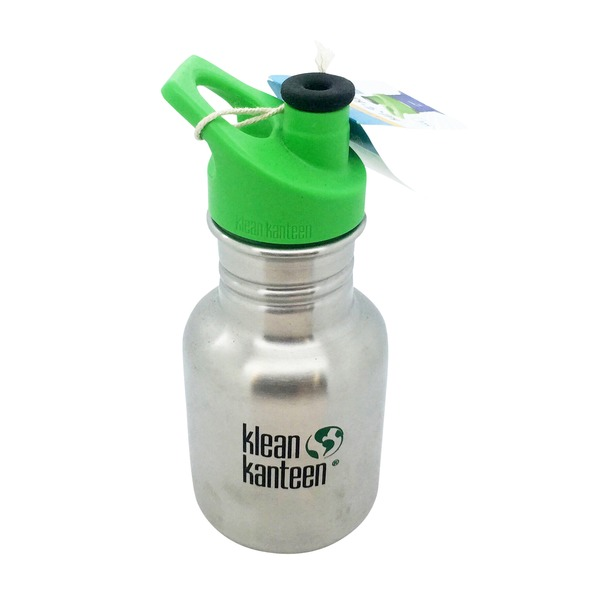 Klean Kanteen Stainless Steel Kids Bottle w/ Sport Cap