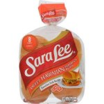 Sara Lee Sweet Hawaiian Sandwich Buns, 8 ct, 18 oz