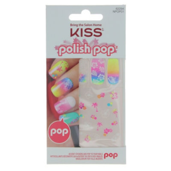 Kiss Polish Pop Nail Stickers Kit, Abbey Road