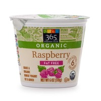 365 Organic Fat Free Raspberry Yogurt