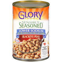 Glory Foods Sensibly Seasoned Blackeye Peas