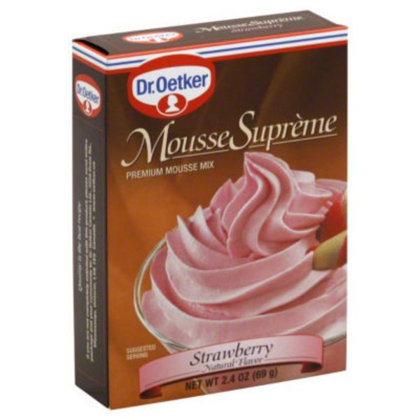 Dr. Oetker Strawberry Mousse Mix