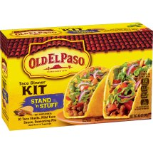 Old El Paso Stand 'N Stuff Taco Dinner Kit, 8.8 oz, 8.8 OZ