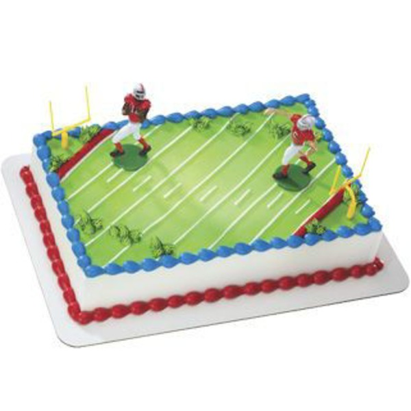 Footbal Magnet Cake Cake, serves up to 96