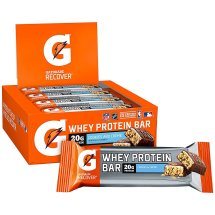 Gatorade Whey Protein Recover Bars, Cookies and Cream, 12 Count
