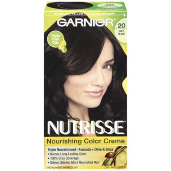 Nutrisse® 20 Soft Black (Black Tea) Nourishing Color Creme