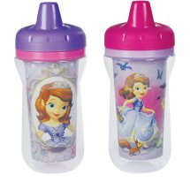 The First Years Disney Insulated Hard Spout Sippy Cup - Sofia the First, 2 pack