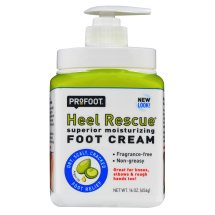 ProFoot Heel Rescue Foot Cream Argan Oil + COQ10, 16.0 OZ