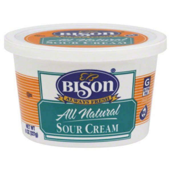 Bison All Natural Sour Cream