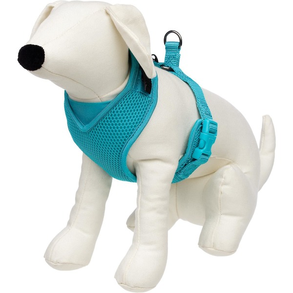Petco Extra Small Teal Adjustable Mesh Harness For Dogs