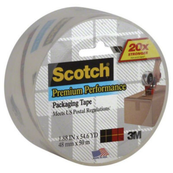 Scotch Shipping Packaging Tape Heavy Duty
