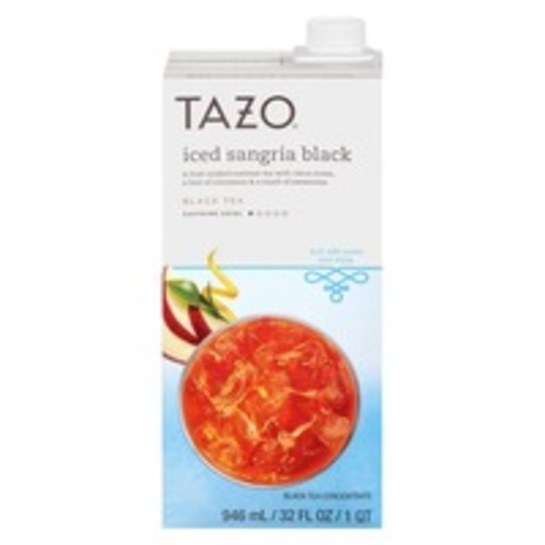 Tazo Tea Iced Sangria Black Tea Concentrate