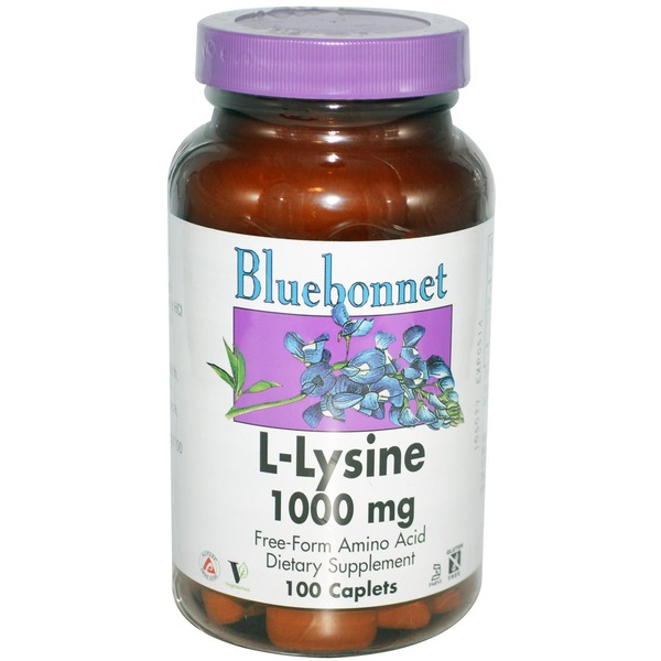 Bluebonnet L Lysine 1000 Mg