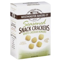 Westminster Bakers Co. Seasoned Snack Crackers White Cheddar Romano