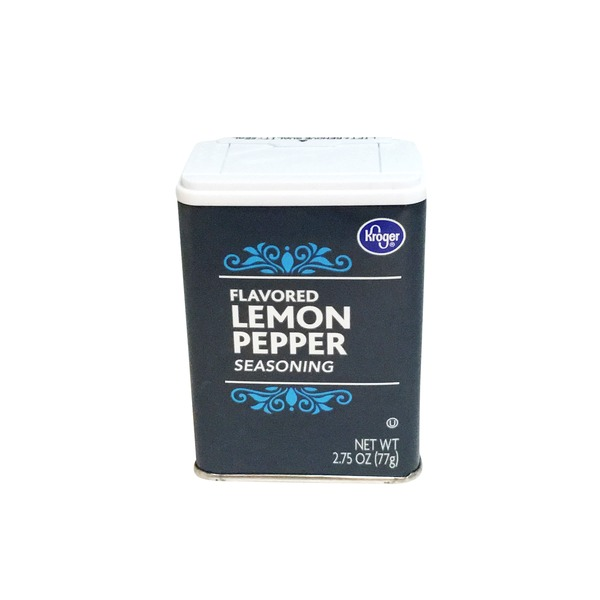 Kroger Flavored Lemon Pepper Seasoning