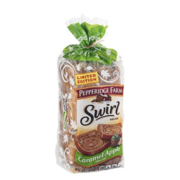 Pepperidge Farm Fresh Bakery Swirl Thick Slice Caramel Apple Bread